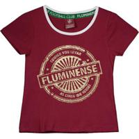 dfa9cb4fac04e Netshoes  Camisa Fluminense Juvenil Feminina - Feminino