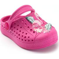 Babuche Infantil Plugt Joy Flamingo - Feminino-Pink