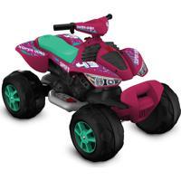 Quadriciclo Elétrico 12V Pink