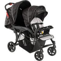 Carrinho De Bebê Para Gêmeos Galzerano 1470Pt Denver Duo Preto
