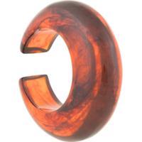 Cult Gaia Bracelete Oversized - Vermelho
