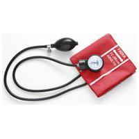 Aparelho De Pressão Aneroide Vermelho Medicate Adulto