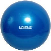 Bola Pilates Yoga Fitball Liveup - 65Cm - Azul - Unissex