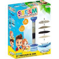 Brinquedo Educativo Kit Purificação De Água Steam - Xalingo