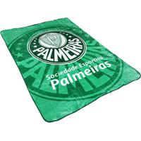 Cobertor Palmeiras Corttex Solteiro - Unissex