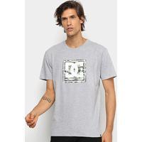 Camiseta Dc Shoes Basic Pattern Box Masculina - Masculino-Mescla