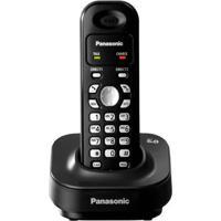 Telefone Sem Fio Panasonic Kx-Tg1371Lbh Dect 6.0 - Discagem Rápida - Redial - Visor Iluminado - Preto