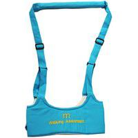 Andador Portátil Mommy Bag Colete Manual Para Bebê Walking Assistant Azul