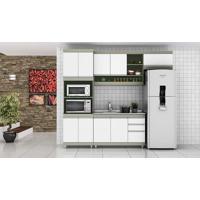 Cozinha Modulada Completa Com 4 Módulos Retrô Ball Corda/Branco - Urbe Móveis