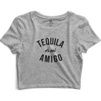 Cropped Morena Deluxe Tequila Es Mi Amigo - Feminino