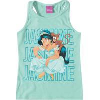 Blusa Verde Claro Jasmine® Em Malha