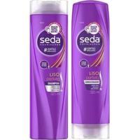 Kit Shampoo E Condicionador Seda Liso Perfeito 325 Ml - Unissex-Incolor