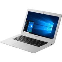 Notebook Multilaser Atom Pc102 2Gb Ram Win10 32Gb 14 Polegadas Branco