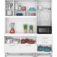 Kit Cozinha Compacta Marinna Branco Terraro