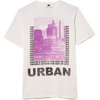 Camiseta John John Urban City (Off White, P)