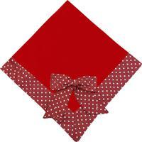 Manta De Bebê Padroeira Baby Balonê Vermelha