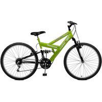 Bicicleta Master Bike Aro 26 Masculina Kanguru Style 21 Marchas Verde