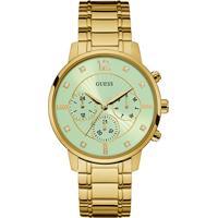 Relógio Guess Feminino Aço Dourado - W0941L6