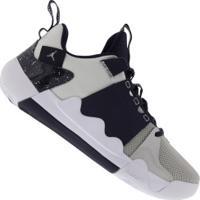 Tênis Nike Jordan Zoom Zero Gravity Pf - Masculino - Cinza Cla/Azul Esc
