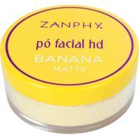 Pó Facial Hd Banana Zanphy Único Multicores