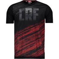 Camisa Flamengo Scroll Masculina - Masculino-Preto