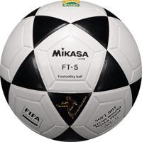 Bola Mikasa Futvôlei Ft5 Branca