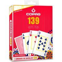 Baralho 139 Cartucho Vermelho - Copag - Tricae