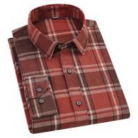 Camisa Xadrez Harbour Masculina - Marrom E Vermelho