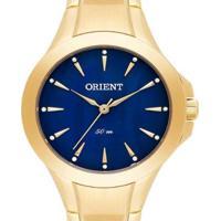 Relógio Feminino Orient Analógico Fgss0084 D1Kx - Unissex-Dourado