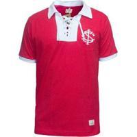 Camisa Retrô Mania Internacional 1922 Masculina - Masculino-Vermelho