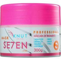 Máscara Knut Se7Ven De Tratamento 300G - Unissex-Incolor