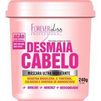 Máscara Forever Liss Desmaia Cabelos Ultra Hidratante 240G Rosa