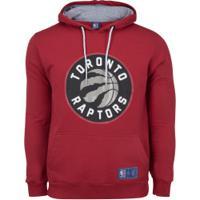 Blusão Com Capuz Nba Toronto Raptors - Masculino - Vermelho