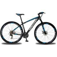 Bicicleta Aro 29 Rino Everest Freio A Disco - Cambios Shimano 2.0 - 21V - Unissex