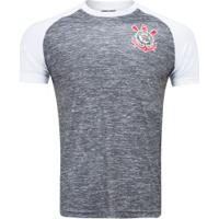 Camiseta Do Corinthians Mixed 18 - Masculina - Cinza/Branco