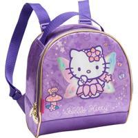 Lancheira Hello Kitty Roxa
