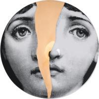 Fornasetti Prato Com Estampa - Preto
