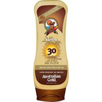 Protetor E Bronzeador Australian Gold Kona Coffee Instant Bronzer Spf 30 237Ml - Unissex-Incolor