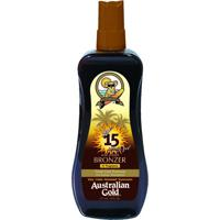 Acelerador Solar Australian Gold Gel Spray Instant Bronzer Fps 15
