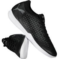 Chuteira Puma Future 19.4 It Futsal Preta