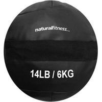 Wall Ball 6 Kg Natural Fitness Treinamento Funcional E Crossfit - Unissex