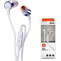 Fone De Ouvido Jbl Tune 210 Com Microfone E Fio - Unissex