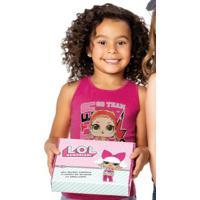 Blusa Rosa Lol® Malwee Kids