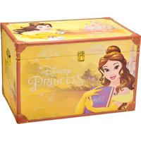 Baú Princesa Bela® - Amarelo & Marrom Claro - 40X60Xmabruk