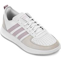 Tênis Adidas Court 80S Feminino - Feminino-Branco