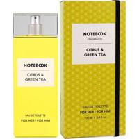 Notebook Citrus & Green Tea De Selectiva Spa Eau De Toilette Feminino 100 Ml