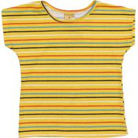 Blusa Com Recortes- Amarela & Azul Marinhomineral Kids