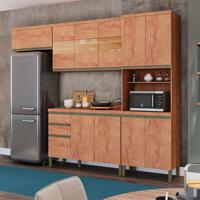 Cozinha Compacta Chardonnay Ii 11 Pt 2 Gv Castanho