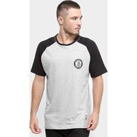 Camiseta Nba Brooklyn Nets Mini Logo Masculina - Masculino-Cinza