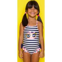 Maiô Kids Onça Navy Summer Puket